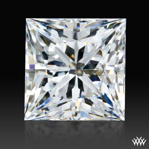 0.726 ct F VS2 A CUT ABOVE® Princess Super Ideal Cut Diamond