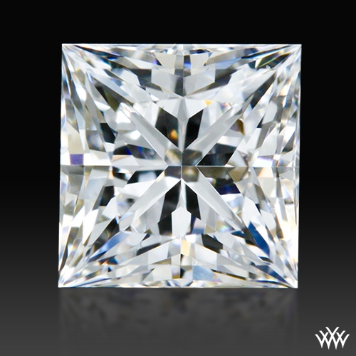 0.726 ct F VS2 A CUT ABOVE® Princess Super Ideal Cut Diamond