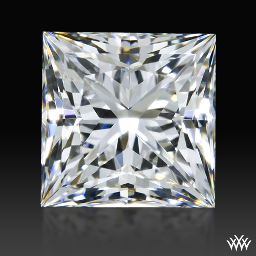 0.70 ct H VVS1 A CUT ABOVE® Princess Super Ideal Cut Diamond