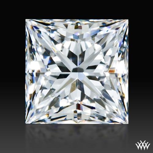 0.713 ct F VVS2 A CUT ABOVE® Princess Super Ideal Cut Diamond