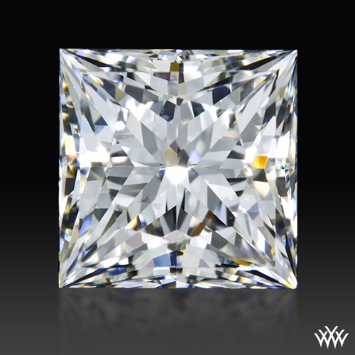 1.508 ct G SI1 A CUT ABOVE® Princess Super Ideal Cut Diamond