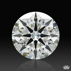 0.59 ct H SI1 A CUT ABOVE® Hearts and Arrows Super Ideal Round Cut Loose Diamond