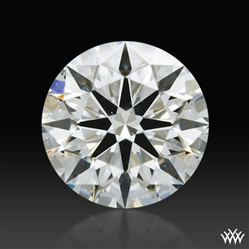 0.453 ct H VS2 A CUT ABOVE® Hearts and Arrows Super Ideal Round Cut Loose Diamond