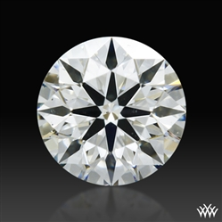 0.37 ct H SI1 A CUT ABOVE® Hearts and Arrows Super Ideal Round Cut Loose Diamond