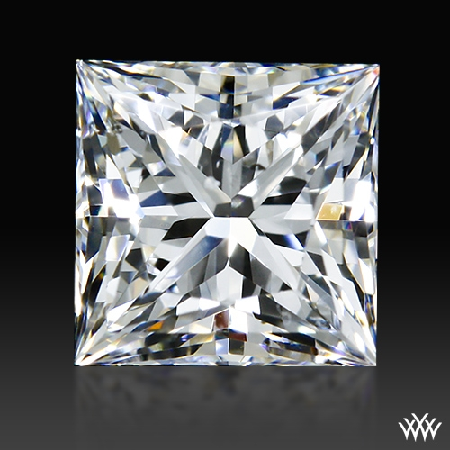 0.707 ct E SI1 A CUT ABOVE® Princess Super Ideal Cut Diamond