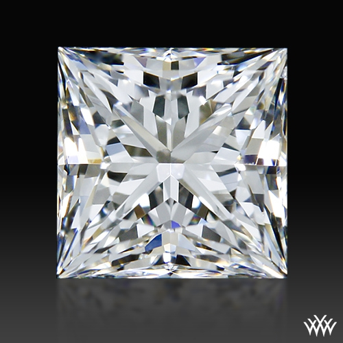 0.76 ct G VS2 A CUT ABOVE® Princess Super Ideal Cut Diamond
