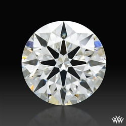 0.523 ct I SI1 A CUT ABOVE® Hearts and Arrows Super Ideal Round Cut Loose Diamond