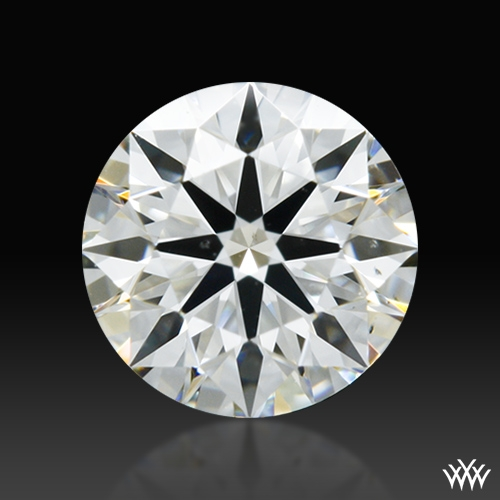 0.413 ct I VS2 A CUT ABOVE® Hearts and Arrows Super Ideal Round Cut Loose Diamond