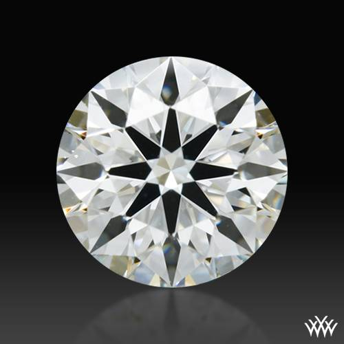 0.421 ct H VS2 A CUT ABOVE® Hearts and Arrows Super Ideal Round Cut Loose Diamond