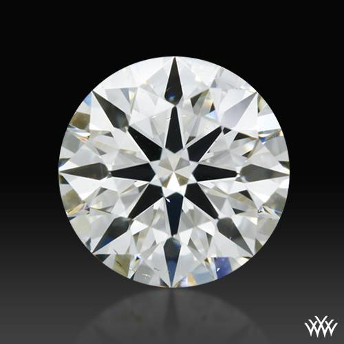 0.406 ct H SI1 A CUT ABOVE® Hearts and Arrows Super Ideal Round Cut Loose Diamond