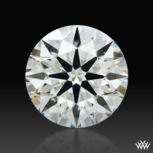 0.415 ct I SI1 A CUT ABOVE® Hearts and Arrows Super Ideal Round Cut Loose Diamond