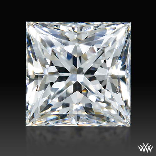 0.702 ct F VS2 A CUT ABOVE® Princess Super Ideal Cut Diamond