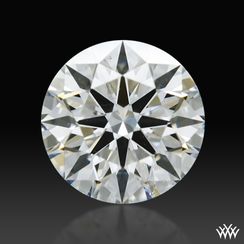 0.568 ct G SI1 A CUT ABOVE® Hearts and Arrows Super Ideal Round Cut Loose Diamond