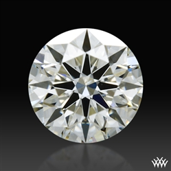 0.357 ct I VS1 A CUT ABOVE® Hearts and Arrows Super Ideal Round Cut Loose Diamond