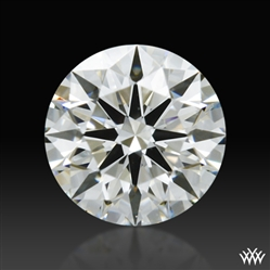 0.302 ct I VS2 A CUT ABOVE® Hearts and Arrows Super Ideal Round Cut Loose Diamond