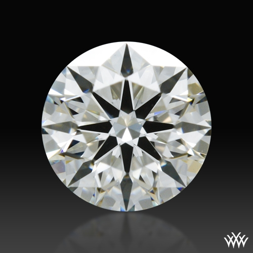 0.342 ct I SI1 A CUT ABOVE® Hearts and Arrows Super Ideal Round Cut Loose Diamond