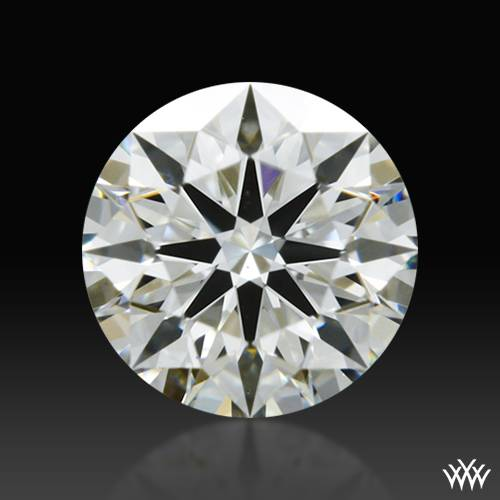 0.337 ct J VS1 A CUT ABOVE® Hearts and Arrows Super Ideal Round Cut Loose Diamond