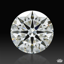 0.603 ct H VS1 A CUT ABOVE® Hearts and Arrows Super Ideal Round Cut Loose Diamond