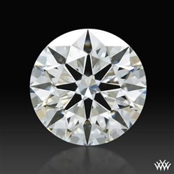0.636 ct G SI1 A CUT ABOVE® Hearts and Arrows Super Ideal Round Cut Loose Diamond