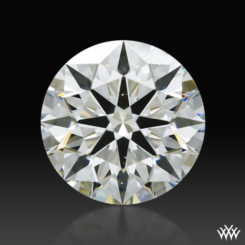0.661 ct I VS2 A CUT ABOVE® Hearts and Arrows Super Ideal Round Cut Loose Diamond