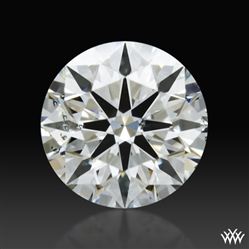 0.423 ct H SI1 A CUT ABOVE® Hearts and Arrows Super Ideal Round Cut Loose Diamond