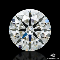 1.322 ct H SI1 A CUT ABOVE® Hearts and Arrows Super Ideal Round Cut Loose Diamond