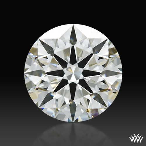 1.303 ct J VS2 A CUT ABOVE® Hearts and Arrows Super Ideal Round Cut Loose Diamond