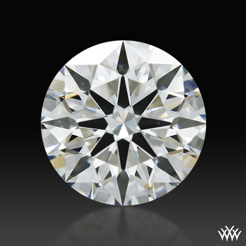 0.807 ct G VS2 A CUT ABOVE® Hearts and Arrows Super Ideal Round Cut Loose Diamond