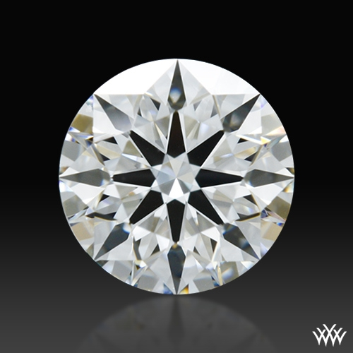 0.658 ct F SI1 A CUT ABOVE® Hearts and Arrows Super Ideal Round Cut Loose Diamond