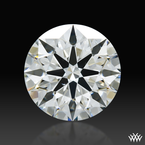 0.651 ct I VS2 A CUT ABOVE® Hearts and Arrows Super Ideal Round Cut Loose Diamond