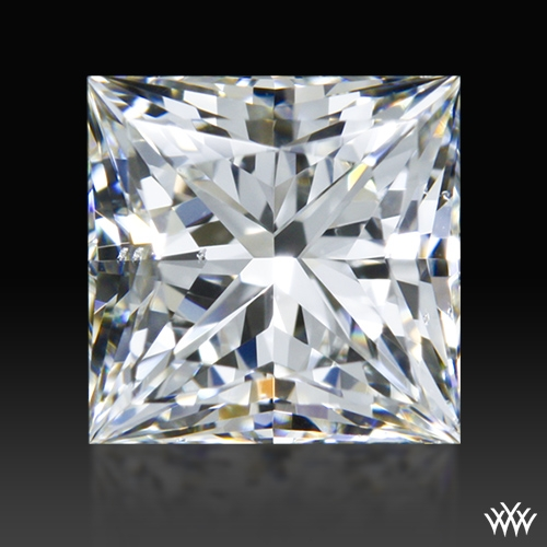 0.701 ct H VS2 A CUT ABOVE® Princess Super Ideal Cut Diamond