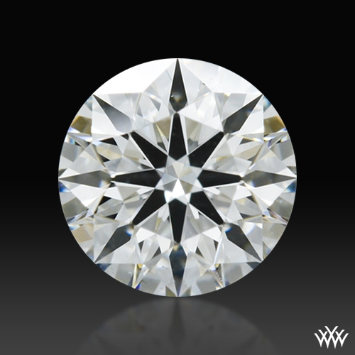 0.408 ct F VS2 A CUT ABOVE® Hearts and Arrows Super Ideal Round Cut Loose Diamond