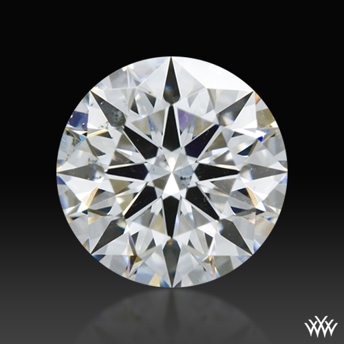 0.608 ct D SI1 A CUT ABOVE® Hearts and Arrows Super Ideal Round Cut Loose Diamond