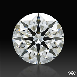 1.203 ct G SI1 A CUT ABOVE® Hearts and Arrows Super Ideal Round Cut Loose Diamond