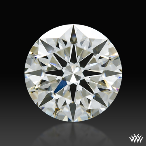 0.808 ct J SI1 A CUT ABOVE® Hearts and Arrows Super Ideal Round Cut Loose Diamond