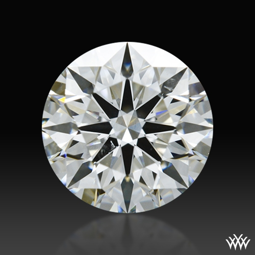 0.85 ct G SI1 A CUT ABOVE® Hearts and Arrows Super Ideal Round Cut Loose Diamond