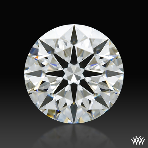 0.858 ct G SI1 A CUT ABOVE® Hearts and Arrows Super Ideal Round Cut Loose Diamond