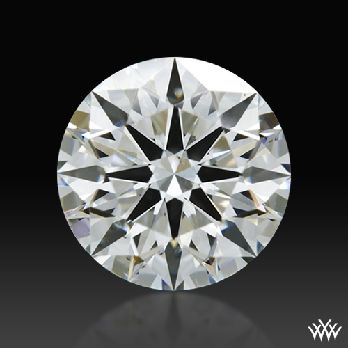 0.857 ct G VS2 A CUT ABOVE® Hearts and Arrows Super Ideal Round Cut Loose Diamond