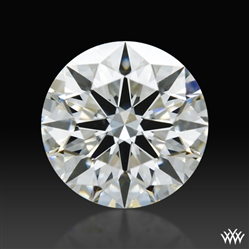 0.736 ct H VS2 A CUT ABOVE® Hearts and Arrows Super Ideal Round Cut Loose Diamond