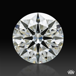 0.817 ct H SI1 A CUT ABOVE® Hearts and Arrows Super Ideal Round Cut Loose Diamond