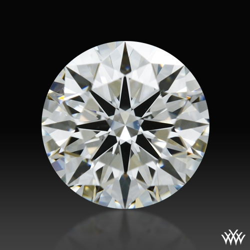 0.595 ct H VS1 A CUT ABOVE® Hearts and Arrows Super Ideal Round Cut Loose Diamond