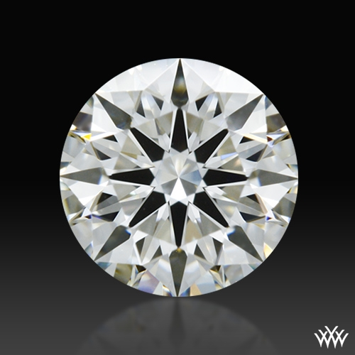 0.607 ct H VS1 A CUT ABOVE® Hearts and Arrows Super Ideal Round Cut Loose Diamond