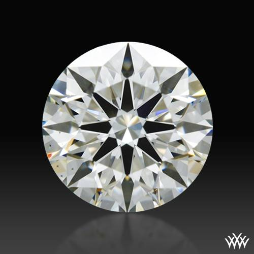 0.636 ct I VS2 A CUT ABOVE® Hearts and Arrows Super Ideal Round Cut Loose Diamond