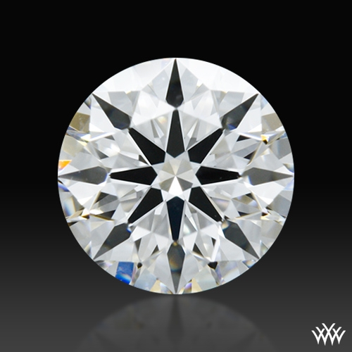 0.617 ct D VS1 A CUT ABOVE® Hearts and Arrows Super Ideal Round Cut Loose Diamond
