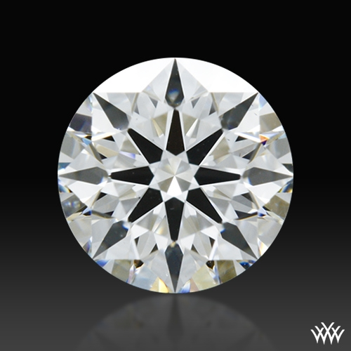 0.608 ct E VS2 A CUT ABOVE® Hearts and Arrows Super Ideal Round Cut Loose Diamond