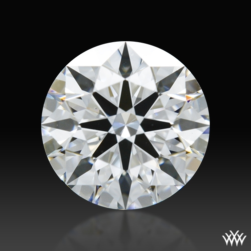 0.608 ct D VS2 A CUT ABOVE® Hearts and Arrows Super Ideal Round Cut Loose Diamond