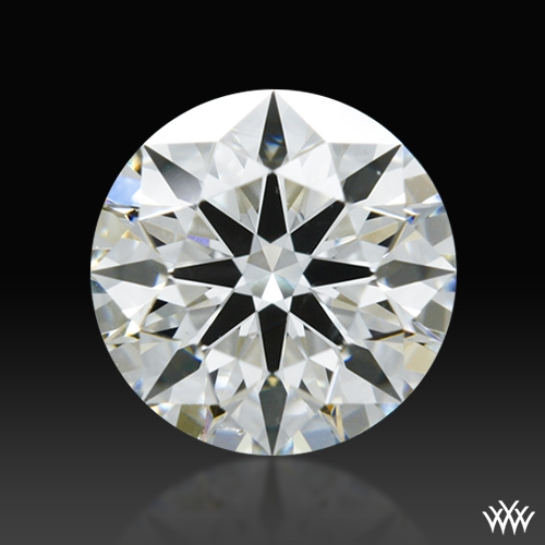 0.611 ct I VS2 A CUT ABOVE® Hearts and Arrows Super Ideal Round Cut Loose Diamond
