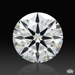 0.546 ct J VS2 A CUT ABOVE® Hearts and Arrows Super Ideal Round Cut Loose Diamond
