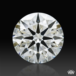 0.562 ct J VS2 A CUT ABOVE® Hearts and Arrows Super Ideal Round Cut Loose Diamond