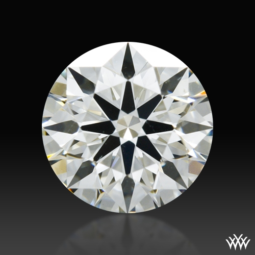 0.507 ct J SI1 A CUT ABOVE® Hearts and Arrows Super Ideal Round Cut Loose Diamond